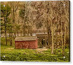 Shelter Photo Art Acrylic Print by Constantine Gregory