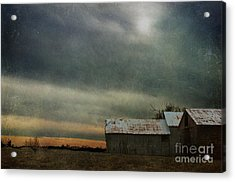 Shelter Acrylic Print by Terry Rowe