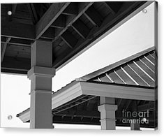 Shelters Acrylic Print by Tom Brickhouse
