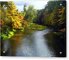Shenago River @ Iron Bridge Acrylic Print