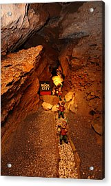 Shenandoah Caverns - 121210 Acrylic Print by DC Photographer