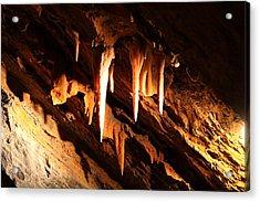 Shenandoah Caverns - 121212 Acrylic Print by DC Photographer