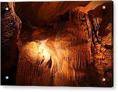 Shenandoah Caverns - 121270 Acrylic Print by DC Photographer