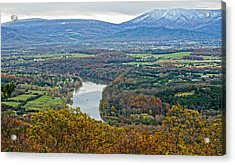 Shenandoah Fall And Winter Acrylic Print