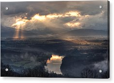 Shenandoah Light Acrylic Print by Lara Ellis
