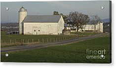 Shenandoah Valley Farm Panorama Acrylic Print by Anna Lisa Yoder