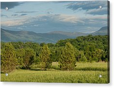 Shenandoah Valley May View Acrylic Print