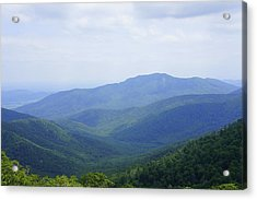 Shenandoah View Acrylic Print by Laurie Perry
