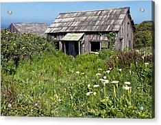 Shepherd's Cabin Acrylic Print by Kathleen Bishop