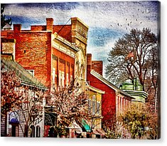 Shepherdstown - East German Street In November Acrylic Print