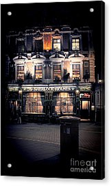 Sherlock Holmes Pub Acrylic Print by Jasna Buncic
