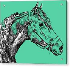 Sherman Greens Acrylic Print by JAMART Photography