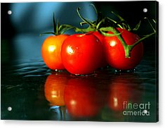 Sherry Tomatoes Acrylic Print by Arie Arik Chen