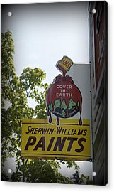 Sherwin Williams Acrylic Print