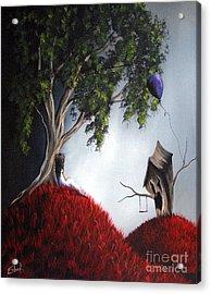 She's Just An Illusion By Shawna Erback Acrylic Print by Shawna Erback