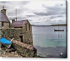 Shetland Lodberry Acrylic Print by Lynn Bolt