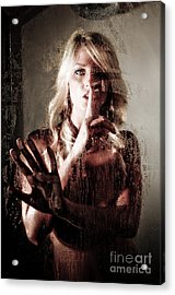 Shhh Acrylic Print by Jt PhotoDesign