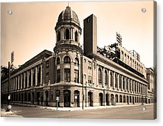 Shibe Park  Acrylic Print by Bill Cannon