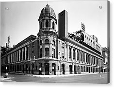 Shibe Park In Black And White Acrylic Print