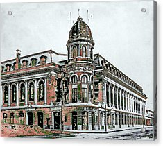 Shibe Park Acrylic Print by John Madison