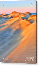 Shifting Sands - A Tranquil Moments Landscape Acrylic Print by Dan Carmichael