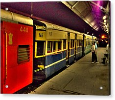 Shimla Toy Train Acrylic Print by Salman Ravish