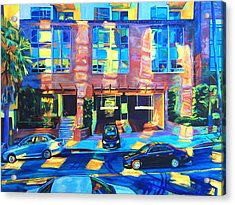 Reflect Acrylic Print by Bonnie Lambert