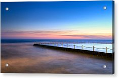 Shimmer In The Dawn Acrylic Print by Mark Lucey