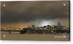 Shimmer Of Pearl.. Acrylic Print