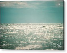 Shimmer Acrylic Print by Sharon Coty