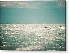 Shimmer Acrylic Print by Sharon Kalstek-Coty