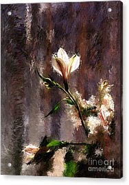 Shimmering Bouquet Acrylic Print