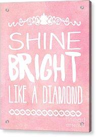 Shine Bright Acrylic Print by Pati Photography