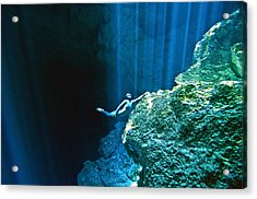 Shine Acrylic Print by One ocean One breath