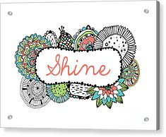 Shine Part 2 Acrylic Print