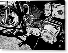 Shines On - 100th Anniversary Harley Davidson Acrylic Print