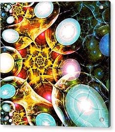 Shining Colors Acrylic Print by Anastasiya Malakhova
