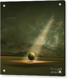 Acrylic Print featuring the painting Shining by Franziskus Pfleghart