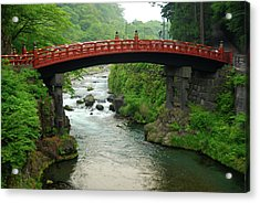 Shinkyo In Nikko Acrylic Print