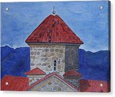 Shio Mgvime Monastery In Rep. Of Georgia Acrylic Print
