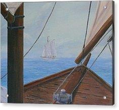 Ship Ahoy Acrylic Print