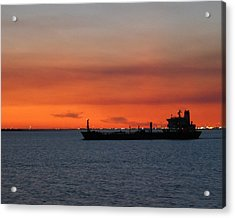 Ship Outbound Acrylic Print