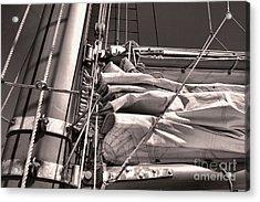 Acrylic Print featuring the photograph Ship Shape 1 by John S