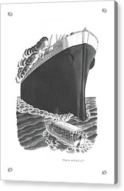 Ship To Starboard Acrylic Print
