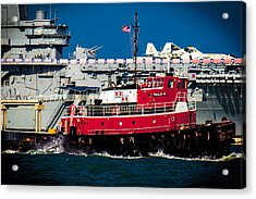 Shipping Lane Hero Acrylic Print