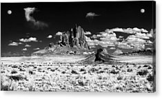 Shiprock Dyke Close-up Acrylic Print