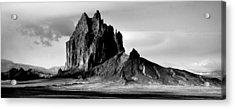 Shiprock Panorama Acrylic Print