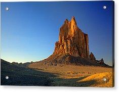 Shiprock Sunset Acrylic Print