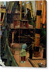 Ship's Carpenter Acrylic Print