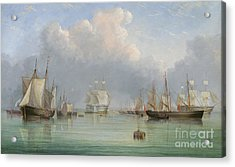 Ships Off Ryde Acrylic Print